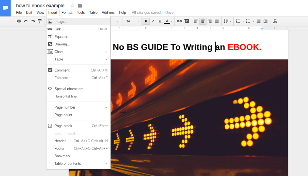 The no bs guide to writing selling an ebook how to create an ebook fandeluxe Image collections