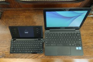 Samsung Chromebook vs The Pomera DM100 – Review